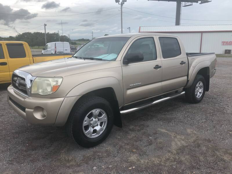 2008 Toyota Tacoma 4x2 PreRunner V6 4dr Double Cab 5.0 ft. SB 5A - Fort Gibson OK