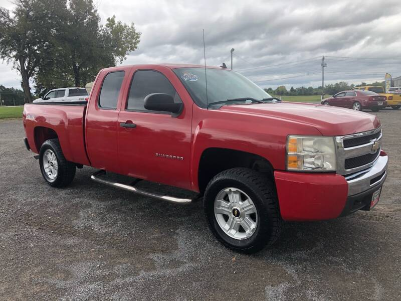2011 Chevrolet Silverado 1500 4x4 LS 4dr Extended Cab 6.5 ft. SB - Fort Gibson OK