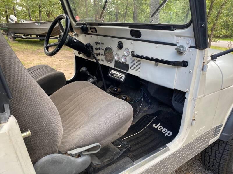 1980 Jeep CJ-7  - Fort Gibson OK