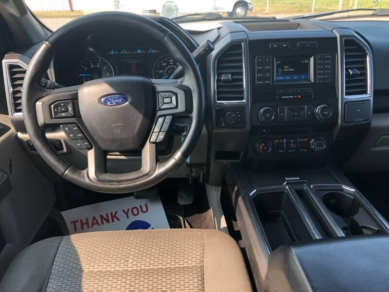 2015 Ford F-150 4x4 XLT 4dr SuperCrew 5.5 ft. SB - Fort Gibson OK
