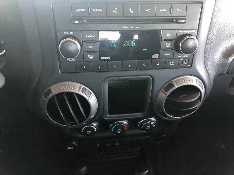 2011 Jeep Wrangler 4x4 Sport 2dr SUV - Fort Gibson OK