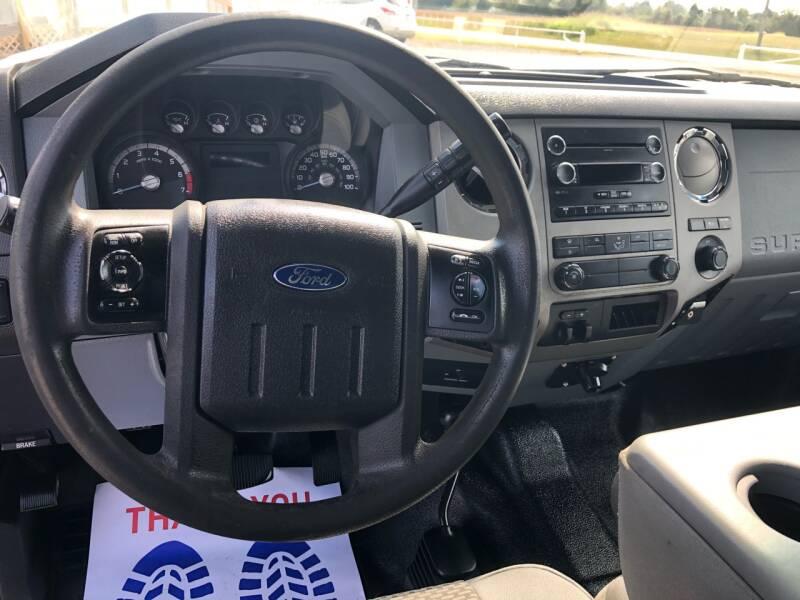 2013 Ford F-250 Super Duty 4x4 XLT 4dr SuperCab 8 ft. LB Pickup - Fort Gibson OK