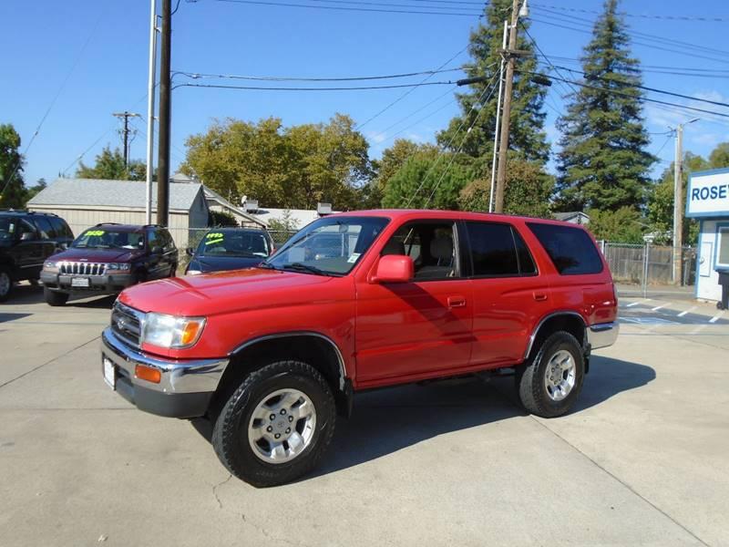 1998 Toyota 4Runner 4dr SR5 4WD SUV   Roseville CA