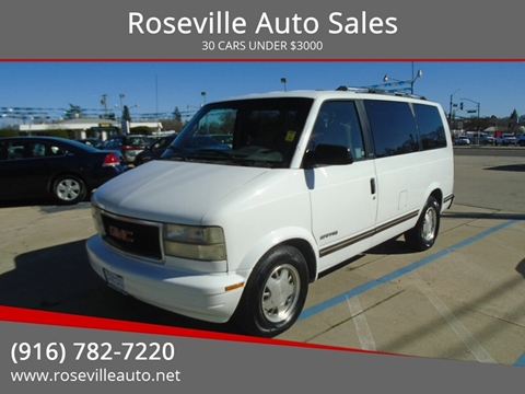 1995 GMC Safari for sale in Roseville, CA