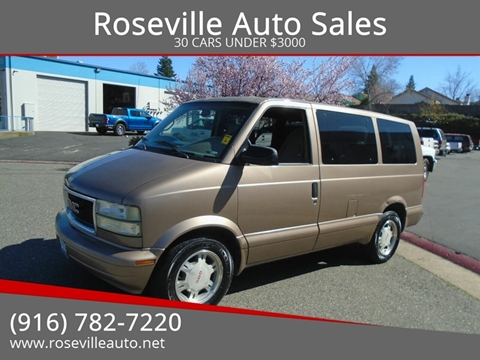 2003 GMC Safari for sale in Roseville, CA