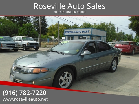 2004 Pontiac Bonneville for sale in Roseville, CA