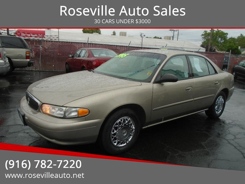 Roseville Auto Sales >> 2003 Buick Century 4dr Sedan In Roseville Ca Roseville Auto Sales