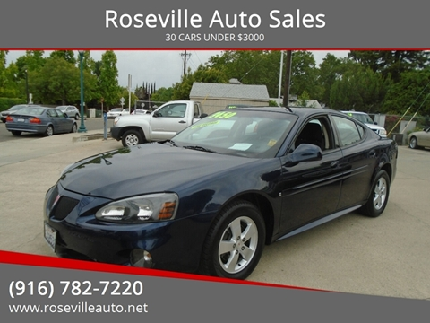 2008 Pontiac Grand Prix for sale in Roseville, CA