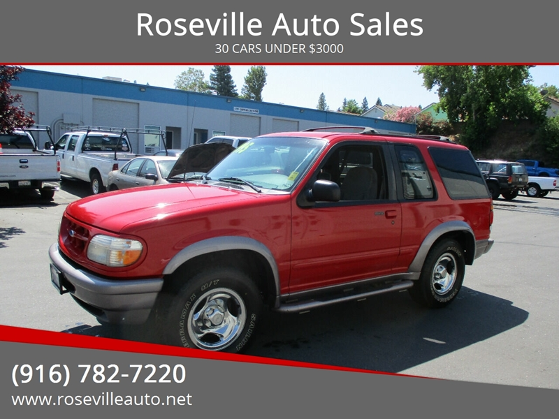 Roseville Auto Sales >> 1997 Ford Explorer 2dr Sport 4wd Suv In Roseville Ca Roseville