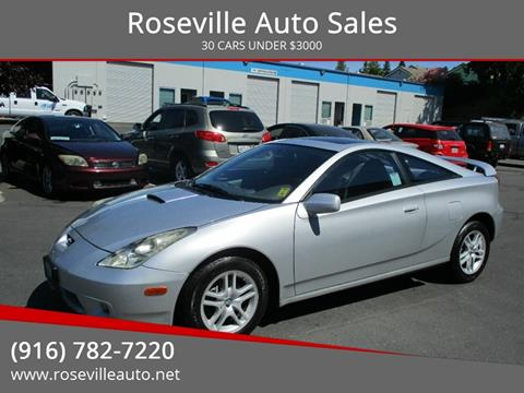 2002 Toyota Celica for sale in Roseville, CA