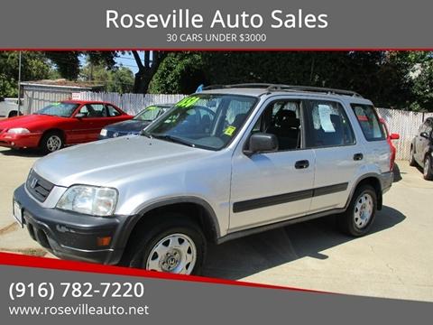 2000 Honda CR-V for sale in Roseville, CA