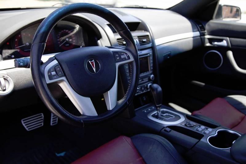 2009 Pontiac G8 GT w/Bluetooth 4dr Sedan - Virginia Beach VA
