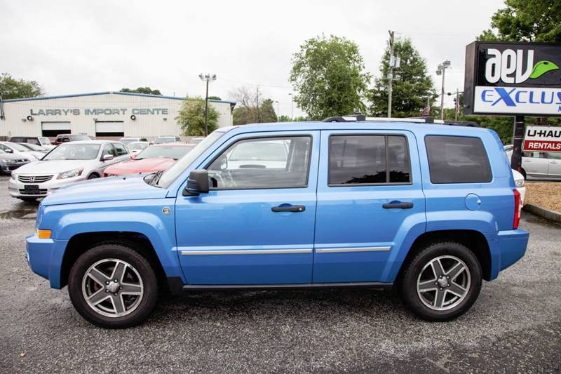 2008 Jeep Patriot 4x4 Limited 4dr SUV w/CJ1 Side Airbag Package - Virginia Beach VA