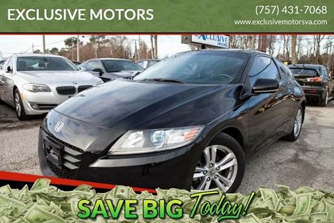 2011 Honda CR-Z for sale in Virginia Beach, VA