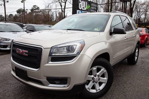 2014 GMC Acadia for sale in Virginia Beach, VA