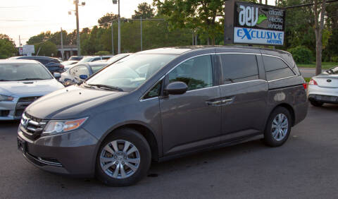 2015 Honda Odyssey for sale at EXCLUSIVE MOTORS in Virginia Beach VA
