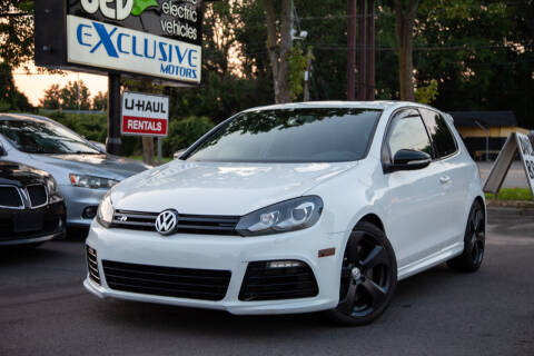 2013 Volkswagen Golf R for sale at EXCLUSIVE MOTORS in Virginia Beach VA