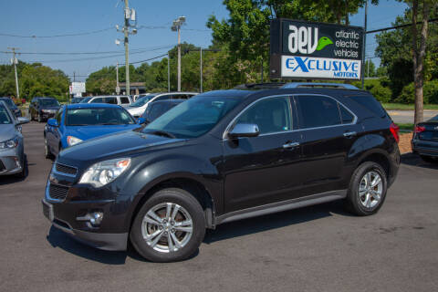 2011 Chevrolet Equinox for sale at EXCLUSIVE MOTORS in Virginia Beach VA