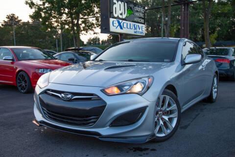 2013 Hyundai Genesis Coupe for sale at EXCLUSIVE MOTORS in Virginia Beach VA