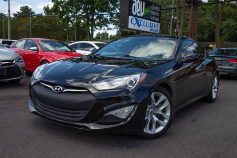 2014 Hyundai Genesis Coupe for sale at EXCLUSIVE MOTORS in Virginia Beach VA