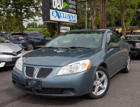 2006 Pontiac G6 for sale at EXCLUSIVE MOTORS in Virginia Beach VA