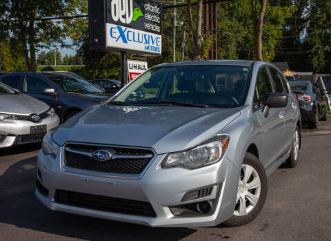 2016 Subaru Impreza for sale at EXCLUSIVE MOTORS in Virginia Beach VA