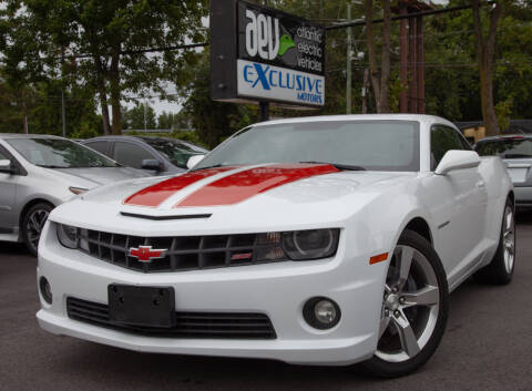 2013 Chevrolet Camaro for sale at EXCLUSIVE MOTORS in Virginia Beach VA