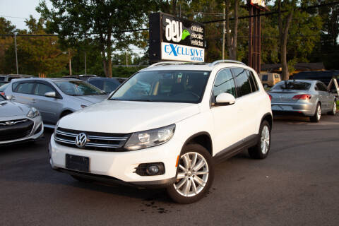 2012 Volkswagen Tiguan for sale at EXCLUSIVE MOTORS in Virginia Beach VA