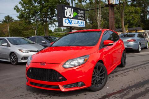 2013 Ford Focus for sale at EXCLUSIVE MOTORS in Virginia Beach VA