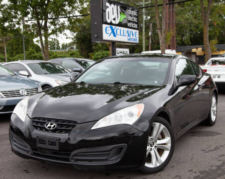 2010 Hyundai Genesis Coupe for sale at EXCLUSIVE MOTORS in Virginia Beach VA