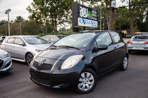 2008 Toyota Yaris for sale at EXCLUSIVE MOTORS in Virginia Beach VA