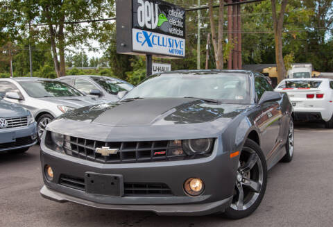 2010 Chevrolet Camaro for sale at EXCLUSIVE MOTORS in Virginia Beach VA