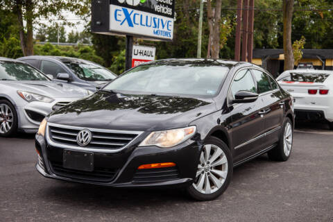 2011 Volkswagen CC for sale at EXCLUSIVE MOTORS in Virginia Beach VA