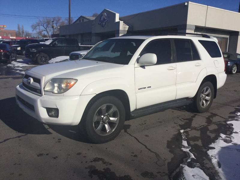 2006 Toyota 4runner Limited 4dr Suv 4wd W V8 In Clearfield Ut