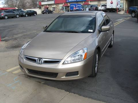 2007 Honda Accord for sale in Clearfield, UT