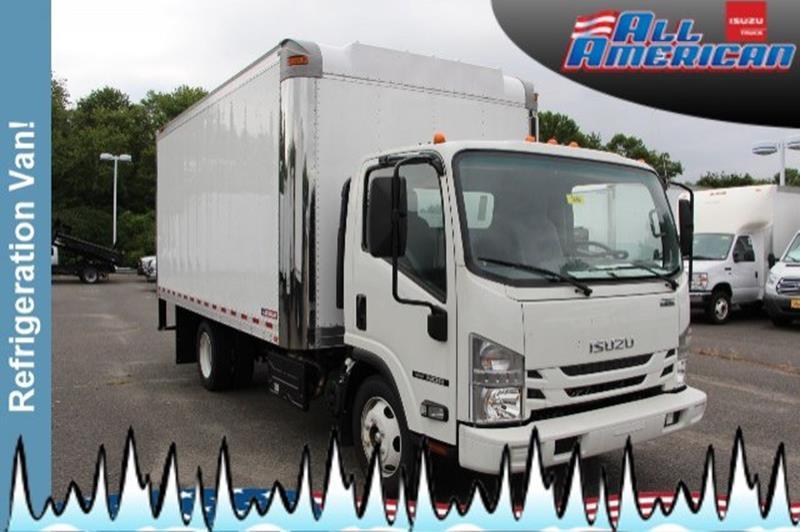 2018 Isuzu Refrigeration Truck NQR 16 FT Refrigeration Van