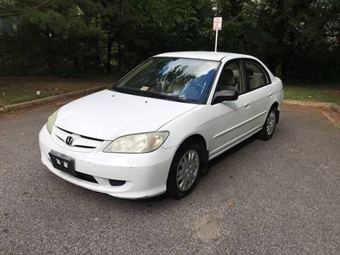 2005 Honda Civic for sale in Falls Church, VA