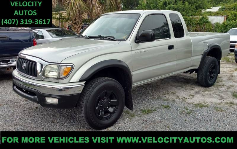 2002 Toyota Tacoma 2dr Xtracab PreRunner 2WD SB - Winter Park FL