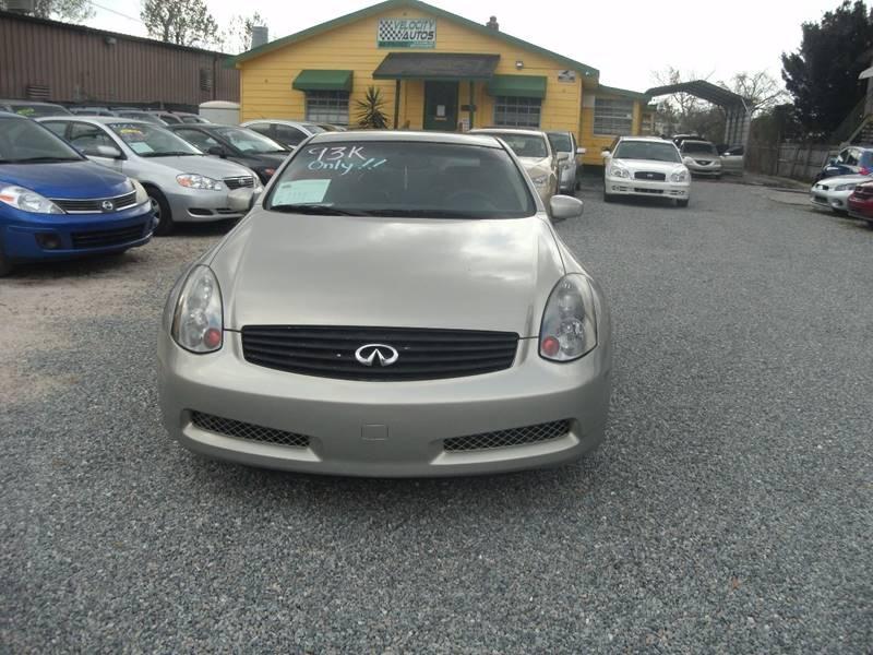 2004 Infiniti G35 Base RWD 2dr Coupe - Winter Park FL