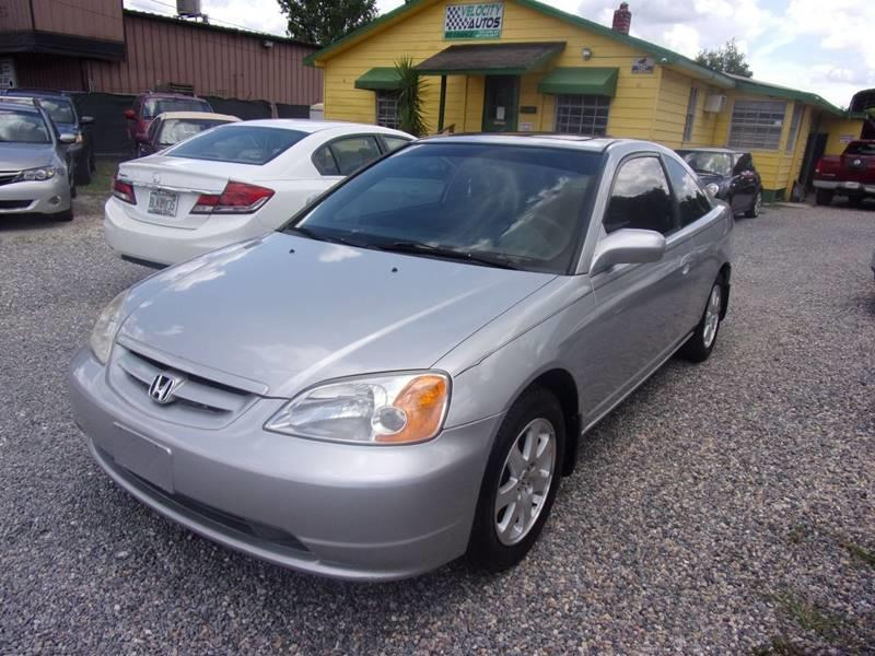 2003 Honda Civic EX 2dr Coupe W/Side Airbags   Winter Park FL