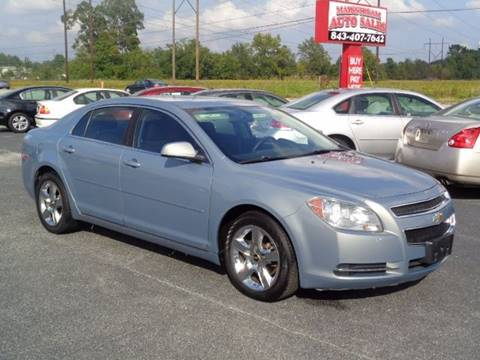 Chevrolet malibu for sale in florence sc for Thoroughbred motors florence sc