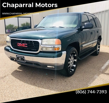 2002 GMC Yukon for sale in Lubbock, TX
