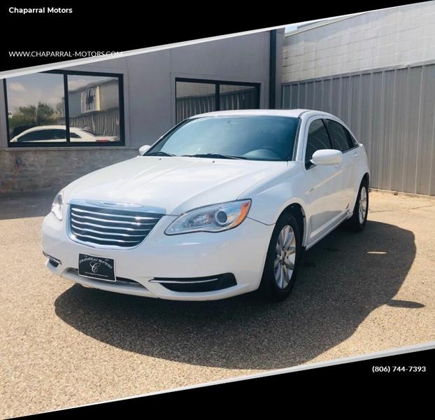 2012 Chrysler 200 Tire Size >> 2012 Chrysler 200 Touring 4dr Sedan In Lubbock Tx Chaparral Motors