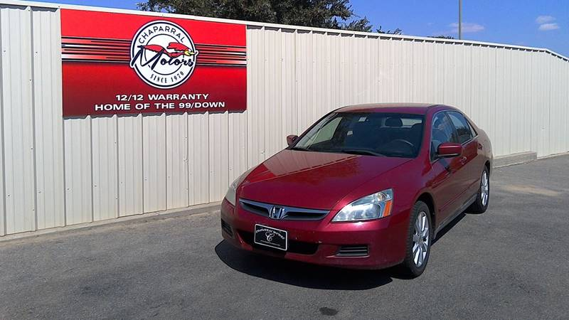 2007 honda accord special edition v 6 in lubbock tx for Chaparral motors lubbock tx