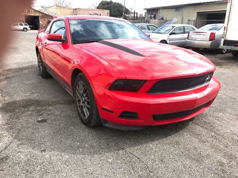 2012 Ford Mustang V6 for sale at WMS AUTO SALES in Jefferson LA