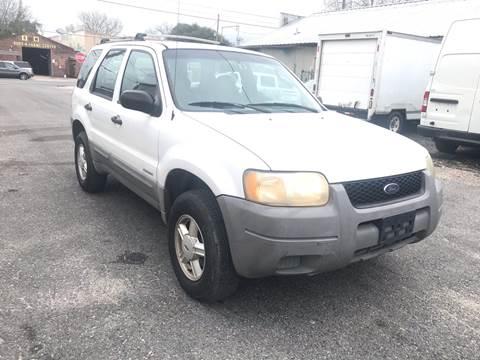 2001 Ford Escape XLS for sale at WMS AUTO SALES in Jefferson LA