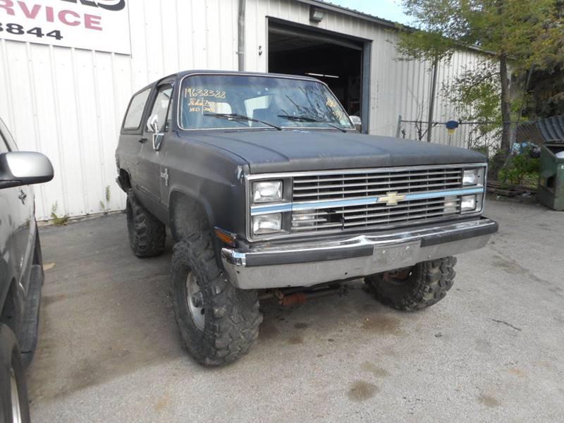 1984 Chevrolet Blazer 2dr Silverado 4WD SUV - Plano IL