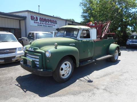 1953 GMC C/K 3500 Series for sale at RJ Motors in Plano IL