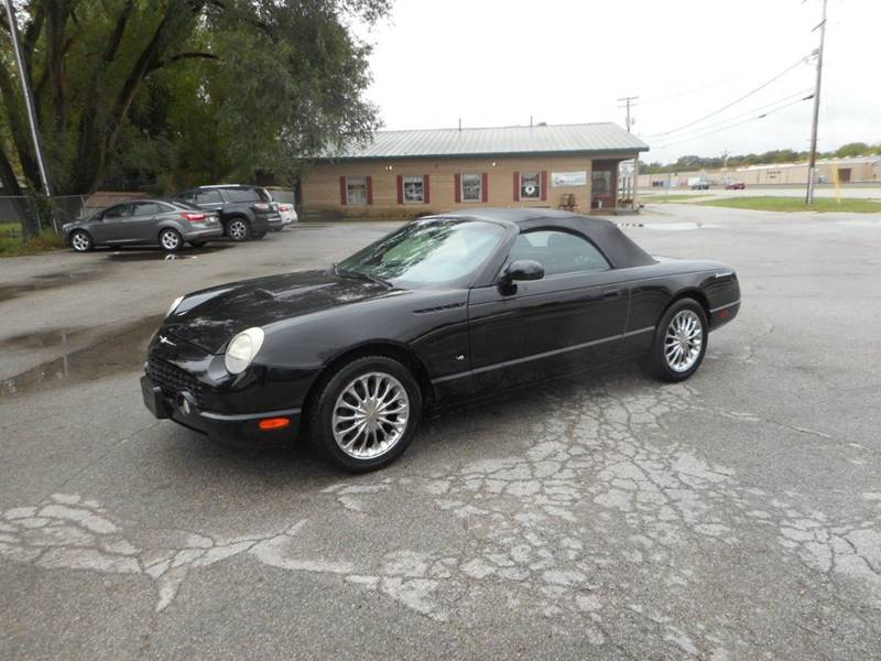 2003 ford thunderbird deluxe 2dr convertible in plano il