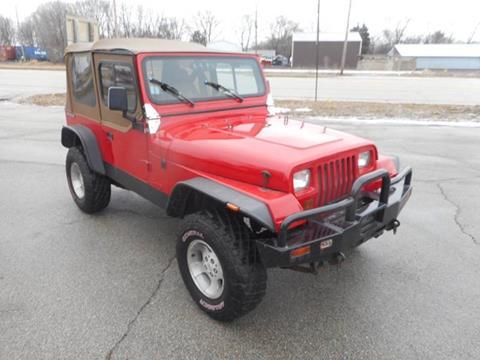 1988 Jeep Wrangler for sale in Plano, IL